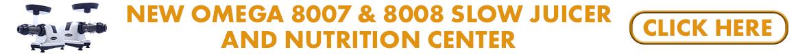 Omega 8007/8 Juicer